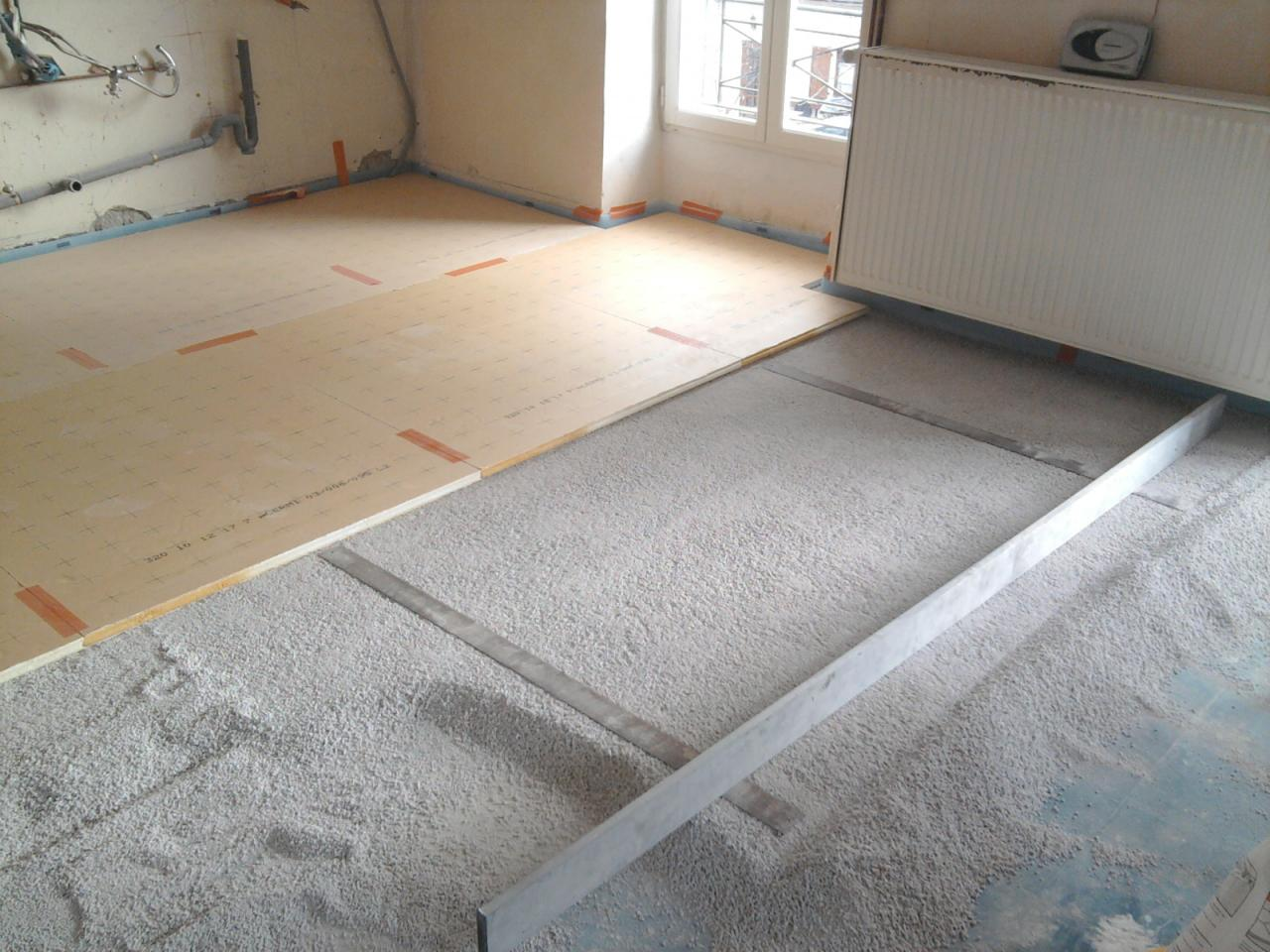 Cnv projects for Carrelage sur fermacell sol
